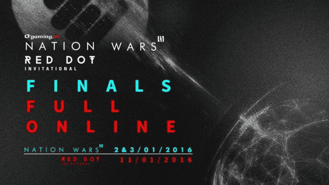 The final part of the Red Dot Invitational will be held online