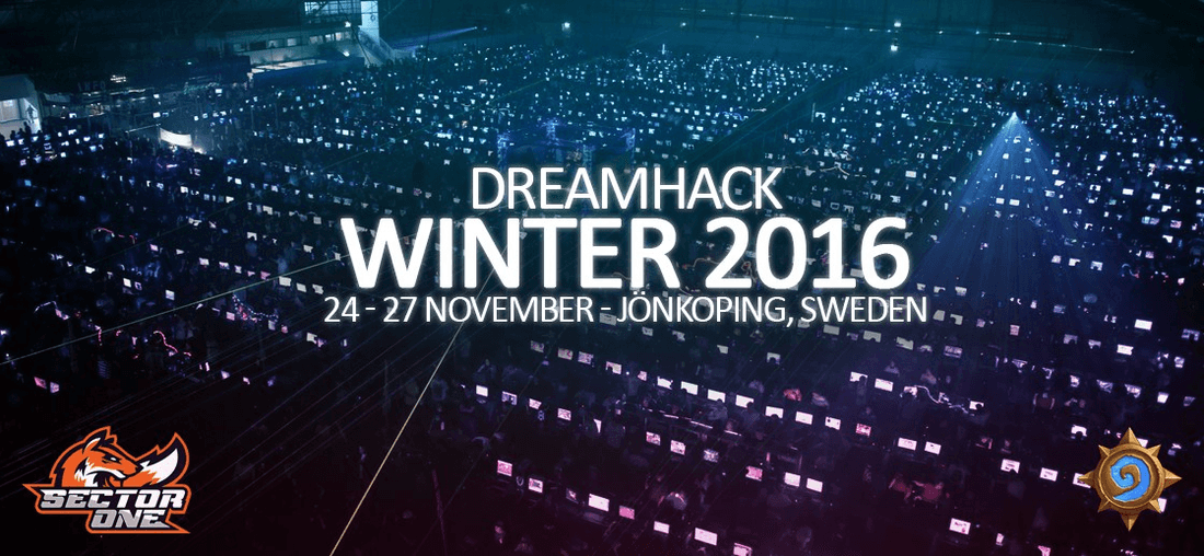 Published schedule group and DreamHack Winter 2016