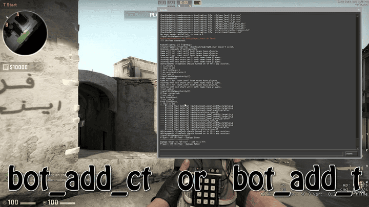 How to add bots to cs go
