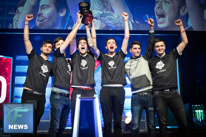 G2 beat HR to win DreamHack Tours