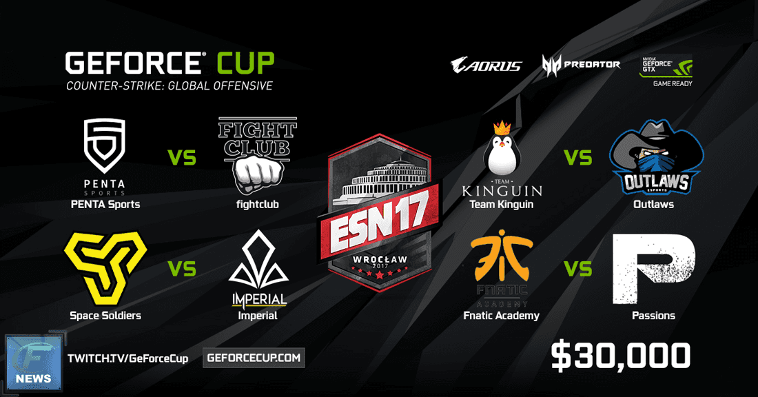 Geforce Cup details announced