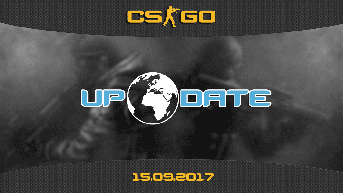 Update CS:GO on 09.15.17