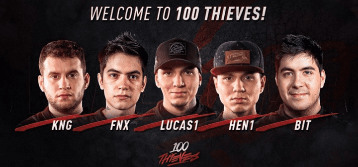 100 Thieves to miss ELEAGUE Major