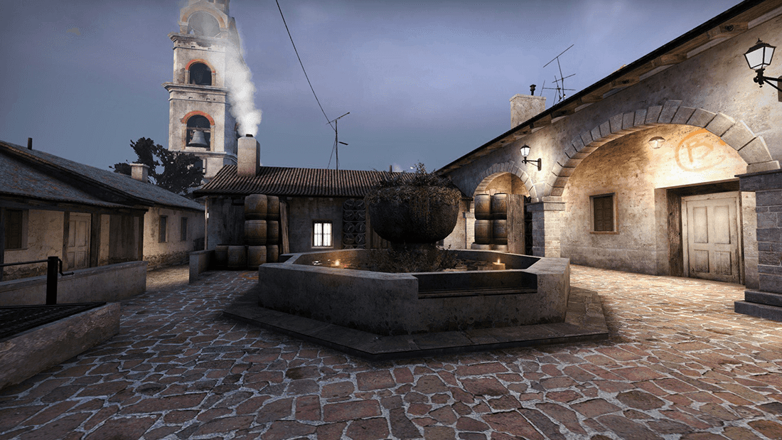 How to attack on the map Inferno in CS: GO