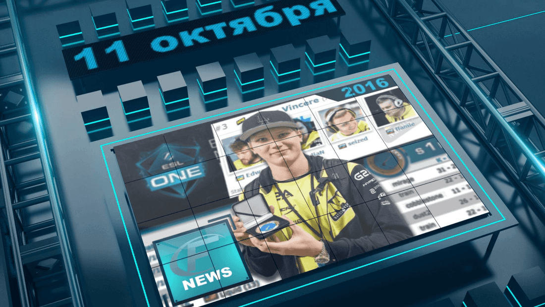 CS GO News October 11 - Digest this week [s1mple - MVP ESL One NY, SIXER in EnVyUs et al.]