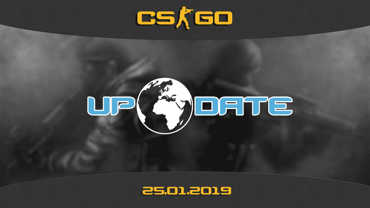 Update CS:GO on 01.25.19
