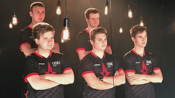 Audi became the sponsor of the Astralis